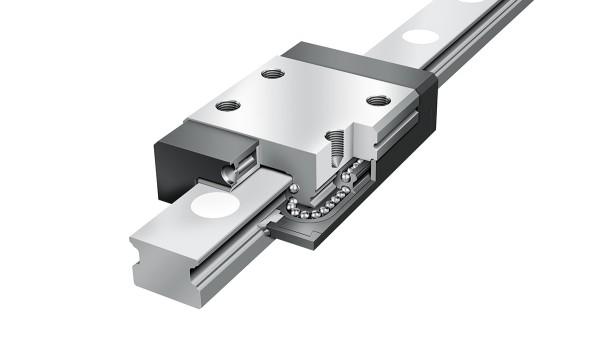 Schaeffler-lineairgeleidingen: Vierrijige miniatuurkogelomloopeenheden