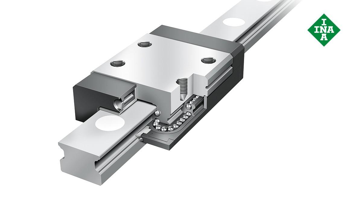 Schaeffler-lineairgeleidingen: Miniatuurkogelomloopeenheden