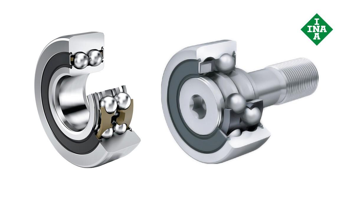 Schaeffler-wentellagers en -glijlagers: Loop-, steun- en curverollen