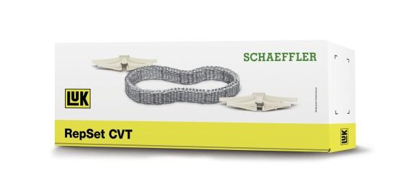 Nieuw en alleen bij Schaeffler verkrijgbaar voor de vrije wisselstukmarkt – de LuK RepSet CVT