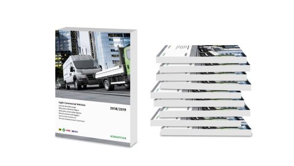Novum: Eerste Schaeffler-catalogus voor lichte bedrijfswagens in de automotive aftermarket.